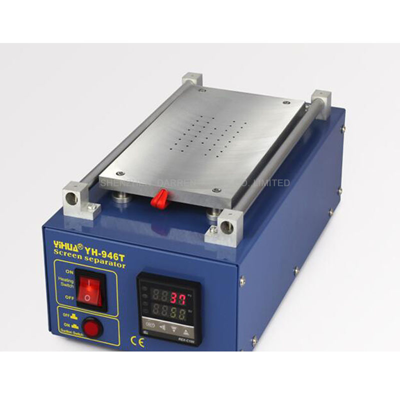 Precision Adjustment Glue Remover Machine for iPhone Sasmung LCD Touch Screen Glue Removing YIHUA-946T glue remover for mobile phone oca glue clean machinetbk 008 lcd screen repair equipment glue removing machine tool