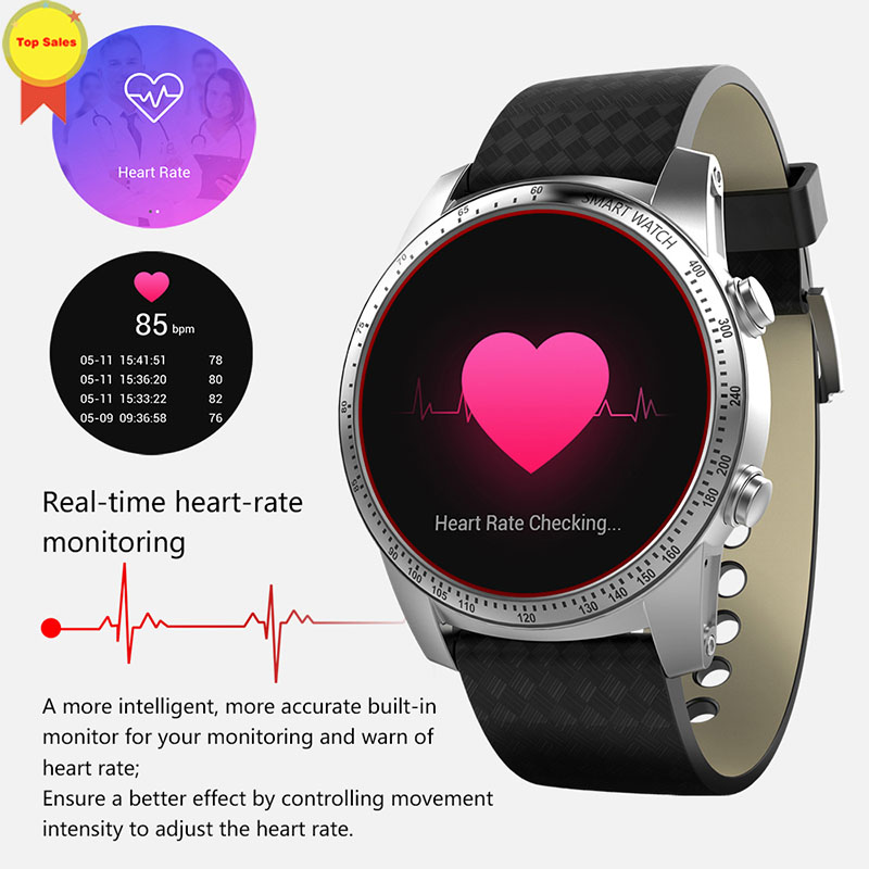 phone call 3G Smart Watches for men heart rate monitor GPS WIFI Positioning smart android watch for IOS xiaomi huawei vivo phone in Smart Watches from Consumer Electronics