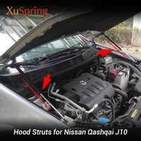 Pour Nissan QASHQAI 2007 à 2013 J10 capot de voiture capot gaz choc jambe de force ascenseur Support barres de tige Support voiture-style