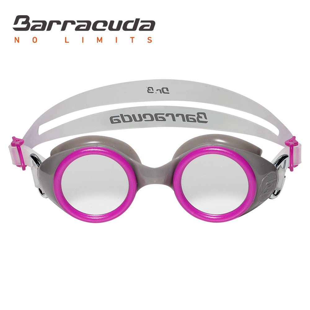 Barracuda Junior Swim Goggles WIZARD MIRROR Mirror Lenses Silicone Strap Anti-fog UV Protection Fit for Children #91310
