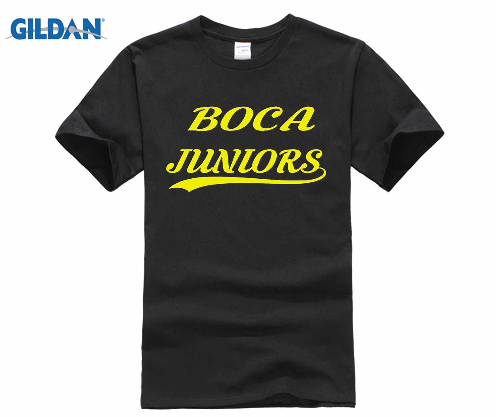 d3046fc3f CA BOCA JUNIORS BUENOS AIRES SHIRT Footballer CAMISETA FUTBOL ARGENTINA T- shirt Men T Shirt