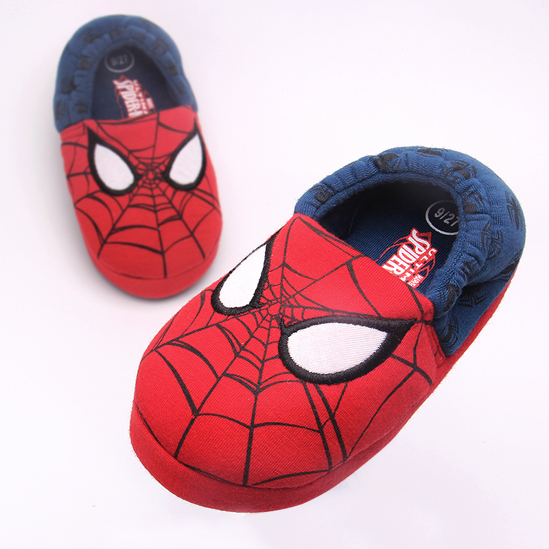2017 Winter High-quality Warm Soft Indoor Children Home Slippers Boys Girls Cartoon Kids Shoes Man Woman Home Slippers