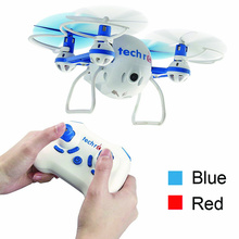 TR001C Tech RC Nano Mini Bee RC Drone Quadcopter with HD Camera Live Video Recording Headless