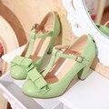 C1003 vestido Novo escritório de Moda sapatos Mulheres Bombas Plataforma 8.5 cm Sapatos de salto alto Doce Arco sapatos de trabalho Tamanho 34-43 frete grátis