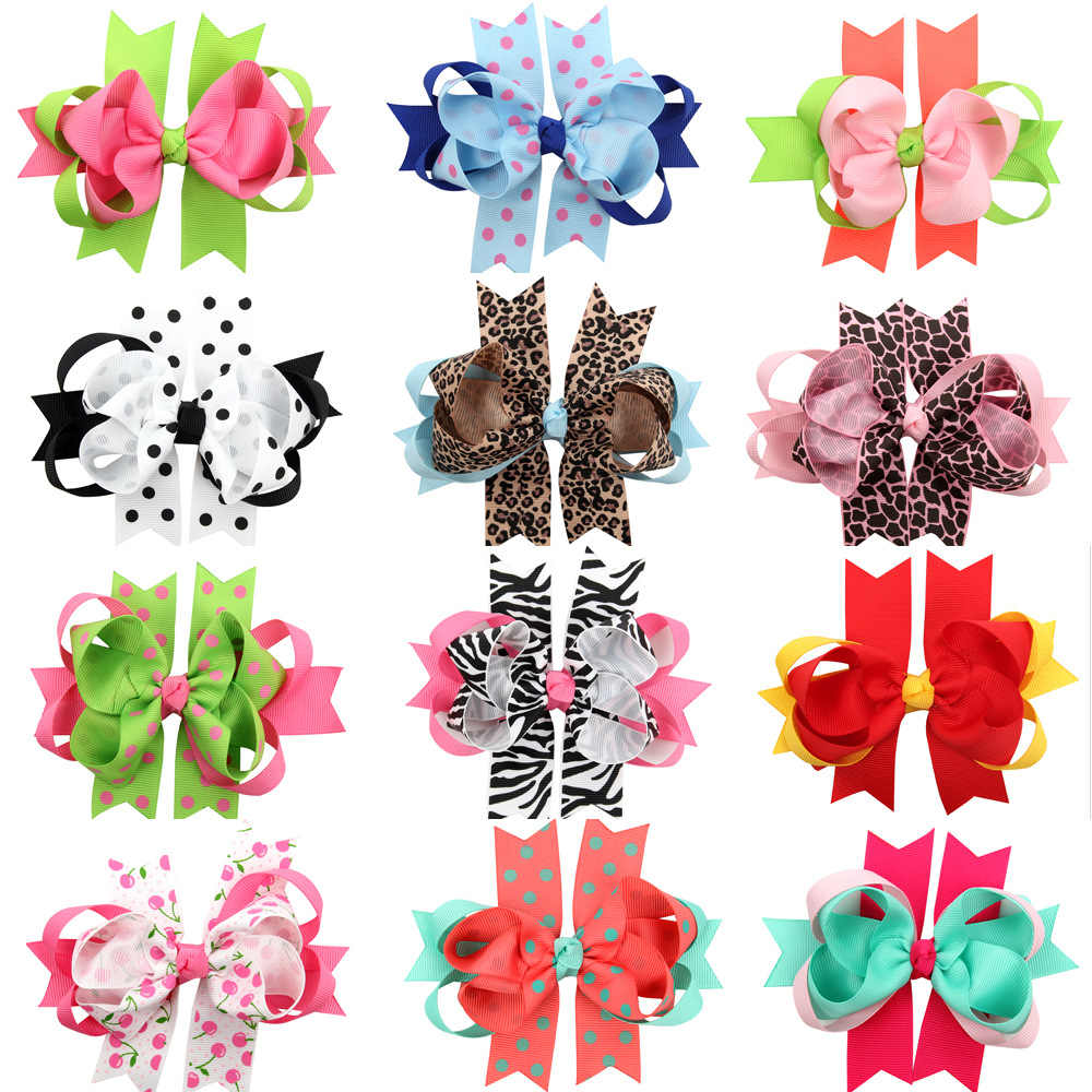 baby girl headband Infant hair accessory cloth clips hairpin bows newborn Headwear tiara Gift Toddlers bandage Ribbon headwrap