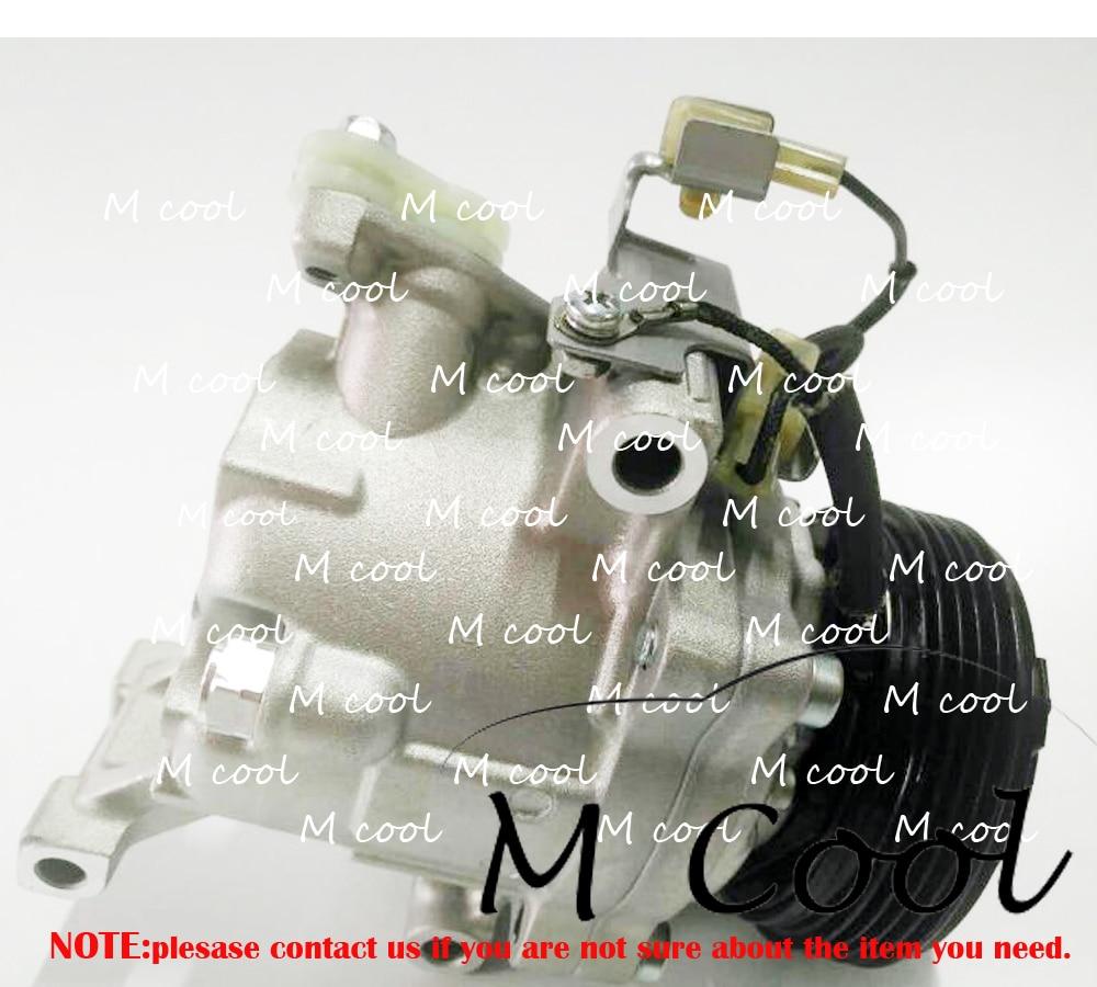 PV4 SV07C Auto AC Compressor For Toyota Passo Daihatsu Terios DAIHATSU BOON SIRION 88310-B1070 88310B1070 447190-6620 4471906620 compressor 10p15c for universal old model pv4