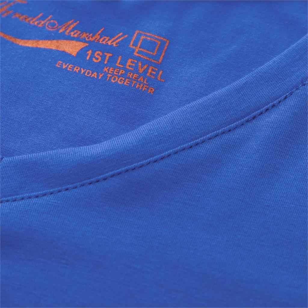 Fredd Marshall Men 100% Cotton V-Neck Casual Basic T-Shirt Men Short Sleeve Breathable Tee Classic T Shirt Tops Plus Size M-3XL