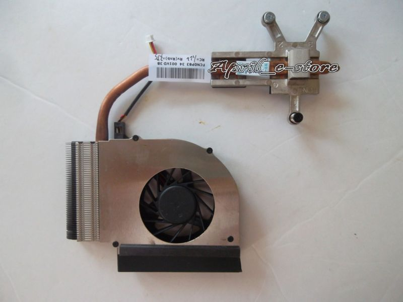 NEW Original for HP Pavilion G61 Compaq CQ61 cooling fan with heatsink 582139-001 ,Free shipping ! ! new original fx2n 48mr 001 with free dhl