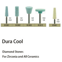 Dental Lab Used Ceramic Diamond Grinder DC001 DY001 DC002 For Porcelain For Zirconia Inner Crown Finishing