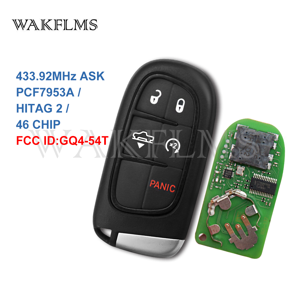 2 New Replacement Keyless Entry Proximity 5 Btn Gen4 Remote Shell M3N40821302