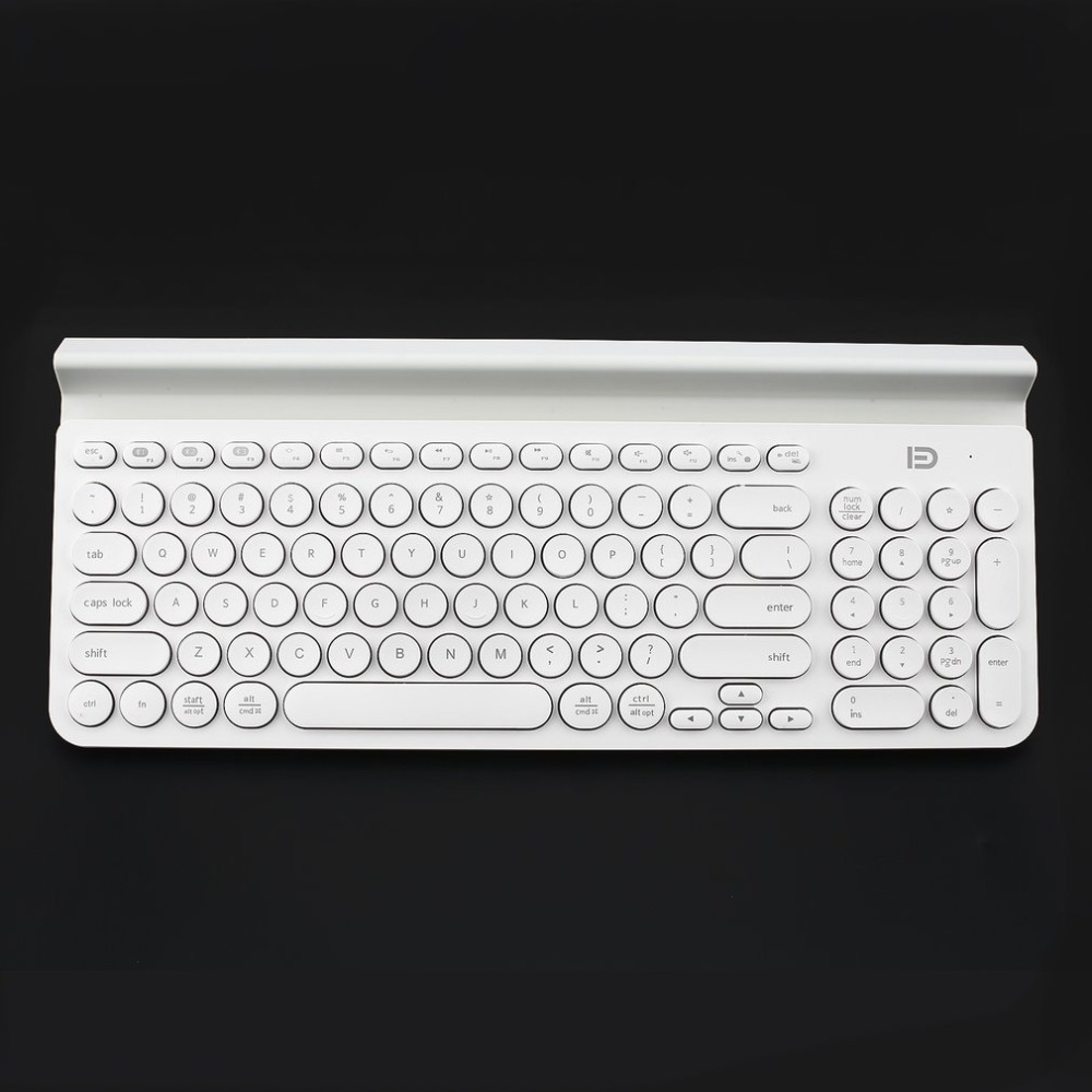 IK6650 Mini Keyboard Multi-Platform Wireless Bluetooth Keyboard With 96 Keys and Tablet Stand for Smart Phone/PC/Tablet power adaptor with uk socket plug for smart phone tablet pc mini pc