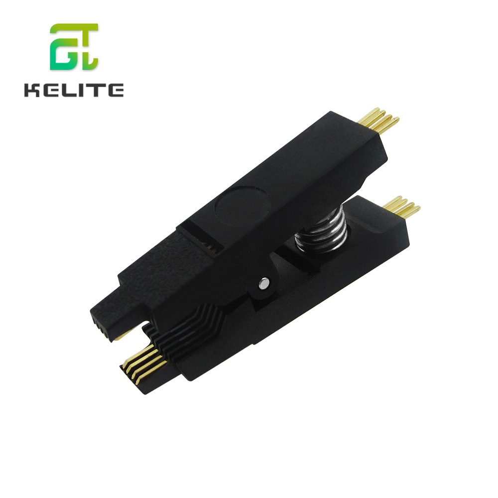 SOIC 8 DIP 8 Pin IC Cable Programming Test Clip