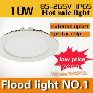 ФОТО 2PCS/LOT 10w panel light Free shipping High quality  smd led ceiling light for home light 85-265v led panel light