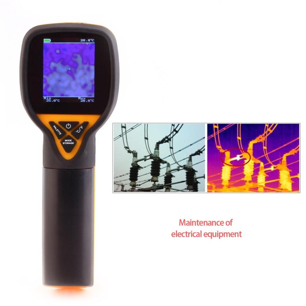 HT-175 numérique infrarouge caméra d'imagerie thermique à main résolution de l'imageur thermique 32X32 thermomètre infrarouge-20 à 300 degrés