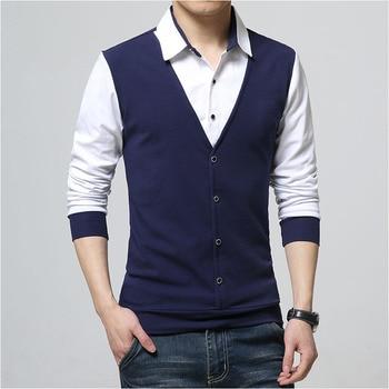 Design New 2019 Men s Brand Polo Shirt Long Sleeves Casual Spring Autumn Clothes Plus Asian Size M-3XL 4XL 5XL 1