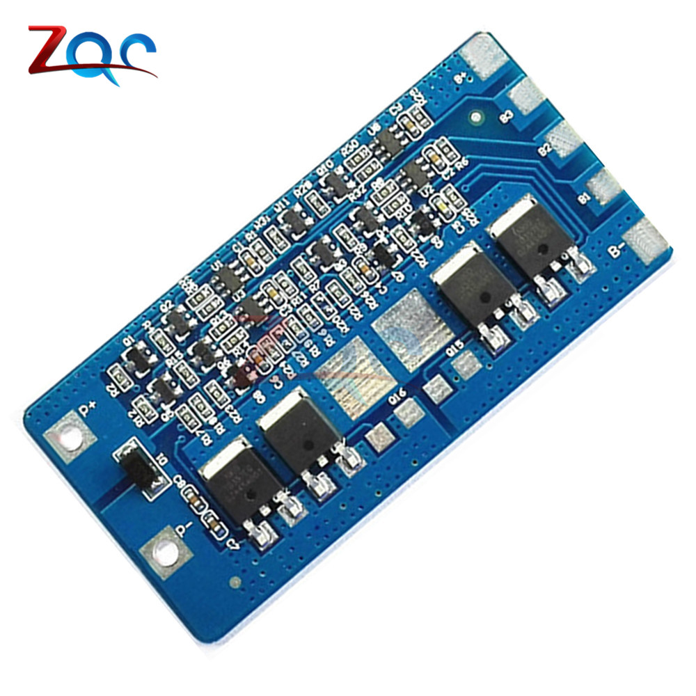 2pcs Dual Mos Battery Protection Board For 18650 Lithium In Balancer Circuit Smd Liion Lipo Cells Test Youtube 4s 20a Li Ion Bms Pcb 148v 168v