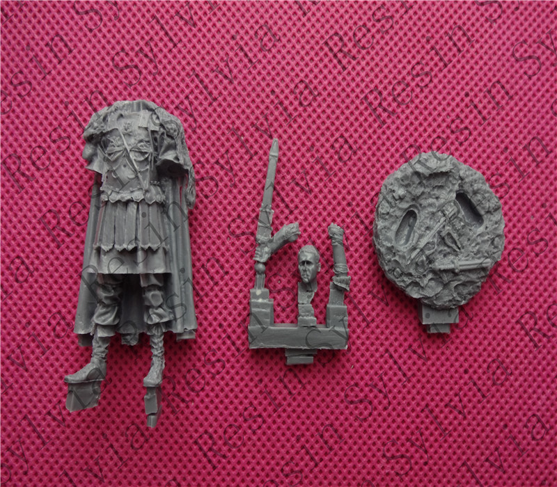 pre order-(General quality version) Unpainted Kit 1/ 32 54mm Maximus 54mm Historical WWII Figure Resin Kit pre order general quality version resin model 1 32 american indian native sioux warriors 54mm diy resin kits figure model