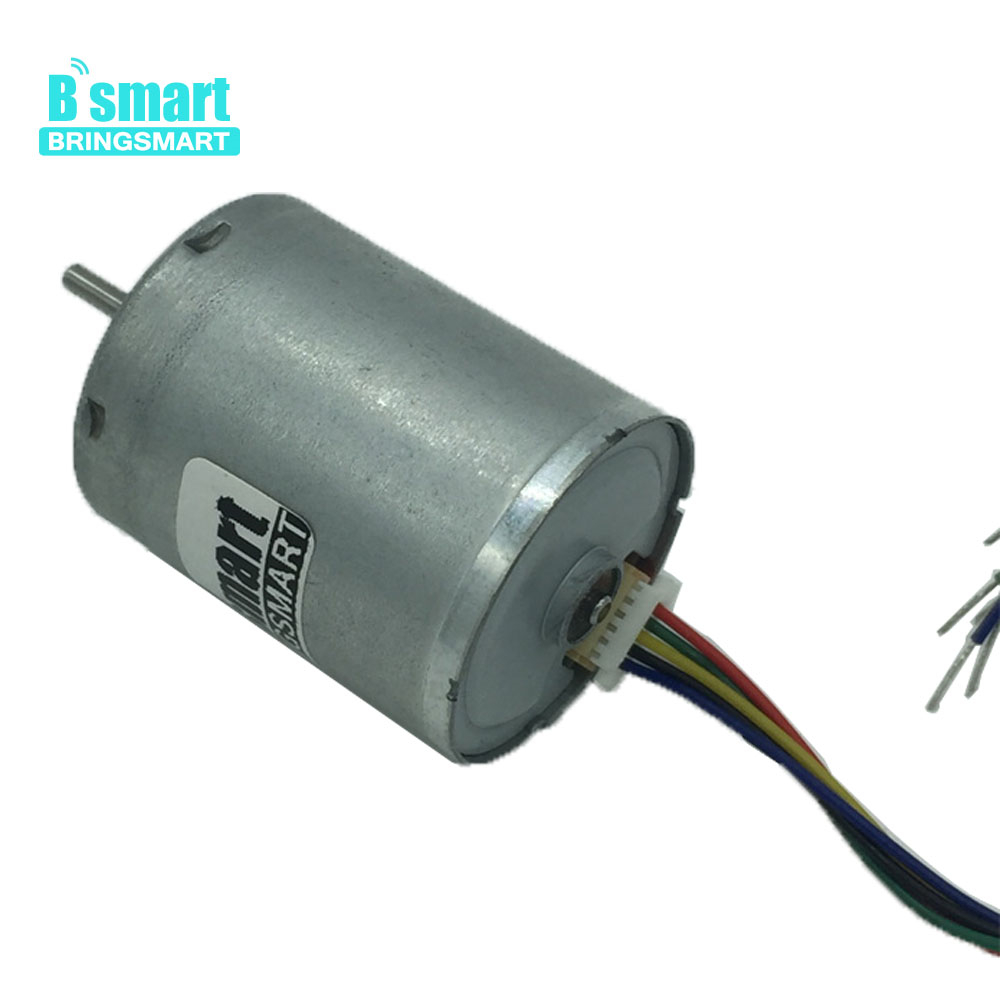 Bringsmart R2430 Brushless <font><b>Motor</b></font> <font><b>DC</b></font> <font><b>Motor</b></font> <font><b>12V</b></font> High Speed <font><b>6000rpm</b></font> with Brake High Quality Mirco <font><b>Motor</b></font> Electricmotor Mini Parts image