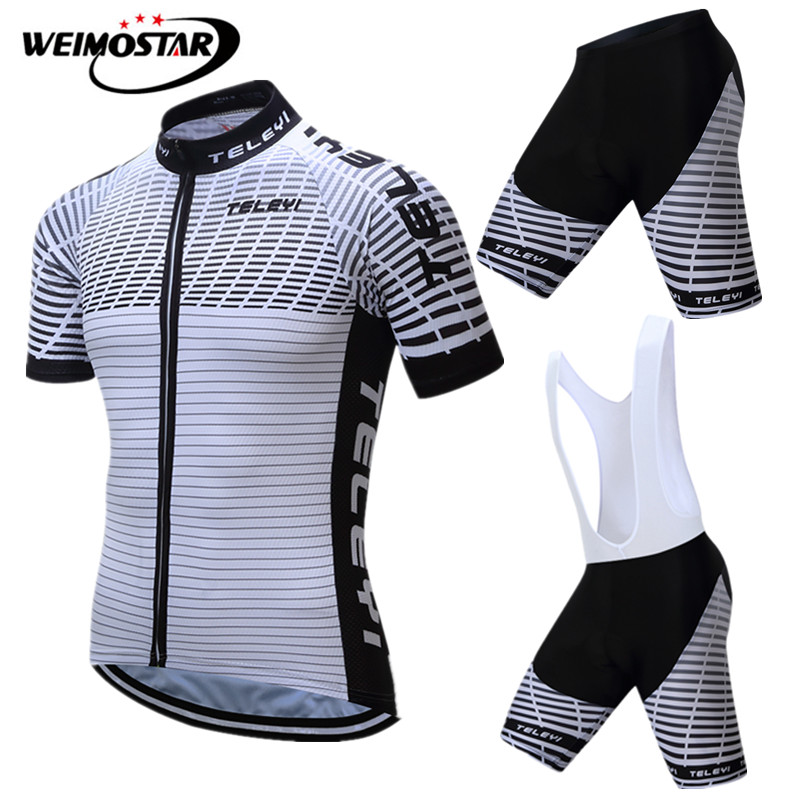 c5950a13f Detail Feedback Questions about Weimostar Uniform Cycling jersey Set 2018  pro team Road Bike Clothing Summer Breathable Bicycle Wear Mountain Cycling  ...
