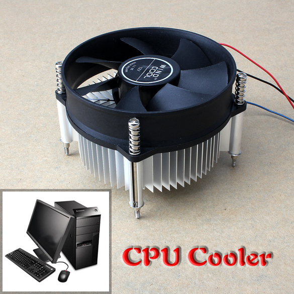 3PIN DC 12V CPU Cooling Cooler PC Ultra Silent Fan For Intel LGA775  QJY99 4pin mgt8012yr w20 graphics card fan vga cooler for xfx gts250 gs 250x ydf5 gts260 video card cooling