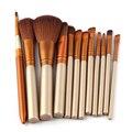 Venta caliente 12 Unids nk3 Pincel Maquiagem Maquillaje Pinceles Set Kits Colorete Contorno Fundación polvo de la Sombra de Ojos En Polvo Cosméticos Cepillos Herramientas