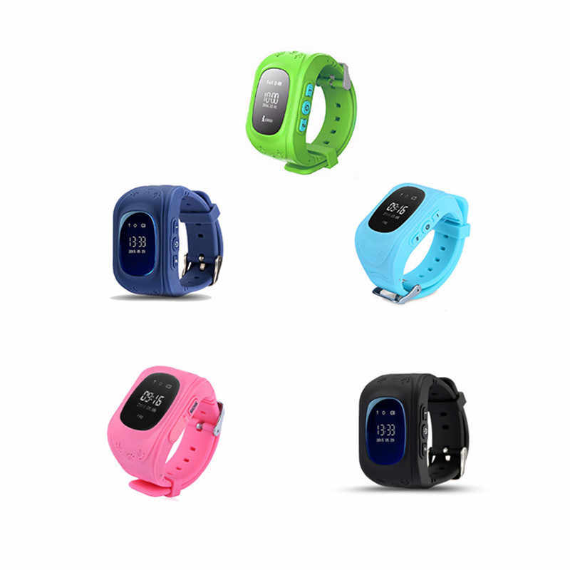 Q50 GPS smart Kids children's watch SOS call location finder child locator tracker anti-lost monitor baby watch IOS & Android