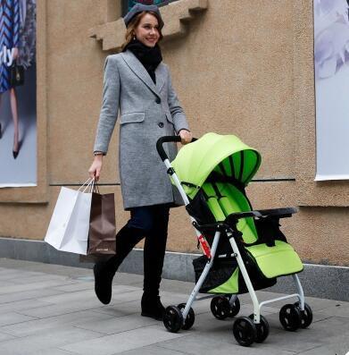 Bebé plegable paraguas cochecito de bebé carro chico Kid cochecitos de bebé de bebé estilo ligero portátil niños cochecito