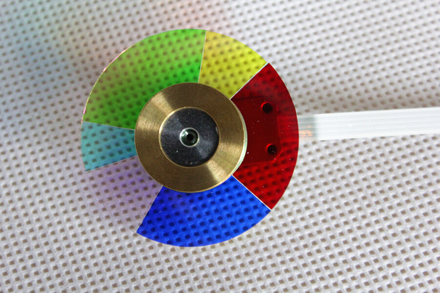 100% NEW original Projector Color Wheel for dell 4210X wheel color with Three Months Warranty new touch screen digitizer glass touch panel sensor replacement parts for 8 irbis tz881 tablet free shipping