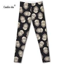 Hot sales new arrival sexy digital printing women leggings fashion lion pant capris soft fitness plus size drop shipping
