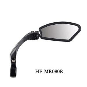 Зеркало заднего вида для велосипеда с регулируемой на 360 градусов отражающей поверхностью из нержавеющей стали, нейлоновая смола, руль для ...