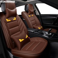 [KOKOLOLEE] auto car seat cover For skoda octavia 1 nissan leaf ssangyong actyon peugeot 106 vw polo car accessories car styling