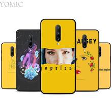 Fountain Kingdom Halsey Hope Silicone Case for Oneplus 7 7Pro 5T 6 6T Black Soft Case for Oneplus 7 7 Pro TPU Phone Cover