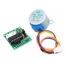 5V 4 Phase DC Gear Stepper Motor 28BYJ-48 + ULN2003 Driver Board for arduino DIY Kit(China)