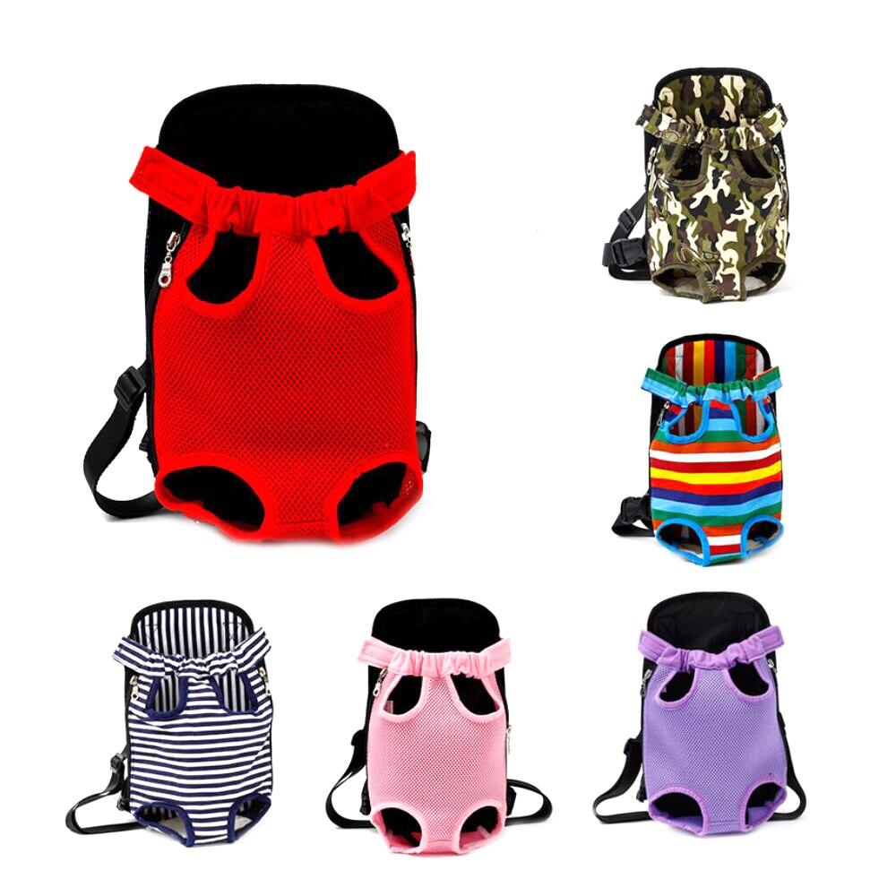 Pet Dog Carrier Backpack Mesh Camouflage All'aperto Prodotti di Viaggio Traspirante Spalla Sacchetti della Maniglia per il Piccolo Cane Gatti Chihuahua