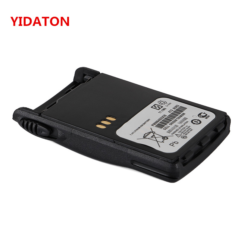 YIDATON 7.4V 1800mAh Li-ion Battery For Motorola Radio GP328Plus, GP338Plus, GP344, GP388, GP328Plus, GP644, GP688, EX500, EX560
