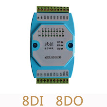 On sale Digital input and output modules switch module isolated 8DI/8DO RS485 MODBUS communications