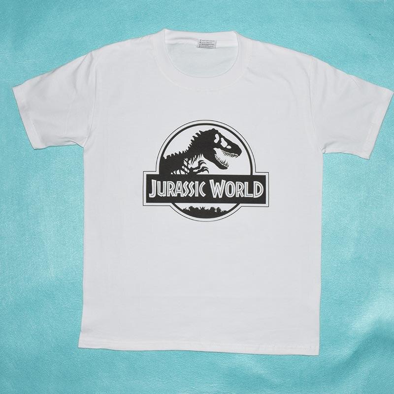 2018 Summer Tops Jurassic Park Men Women T Shirt Jurassic World