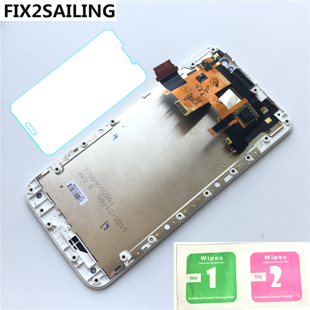 New 100% Working LCD Display Touch Screen Digitizer Frame Assembly Replacement For Motorola Moto X style X3 XT1575 XT1572 XT1570