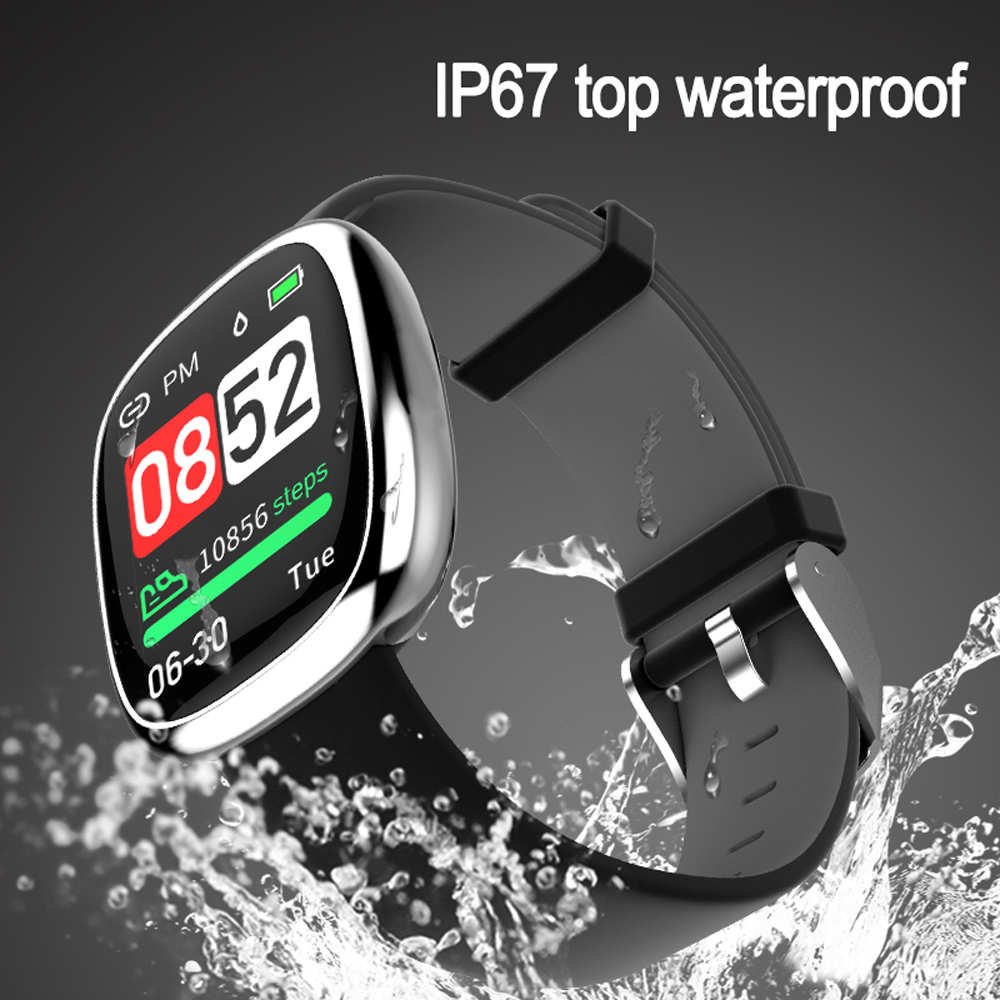 Image 5 - New Screen Activity Tracker Waterproof Smart Bracelet Blood Pressure Pedometer Smart Wristband Heart Rate Monitor  mens women-in Smart Wristbands from Consumer Electronics