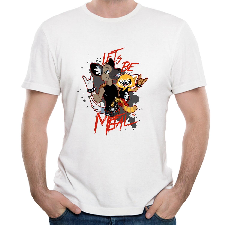 Aggressive Retsuko T shirt Hot sale Aggretsuko Plus size Camiseta Top design Nice Short-sleeved
