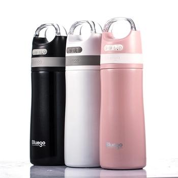 Botella de agua Bluetooth Smart Sport Music de acero inoxidable con aislamiento térmico de doble pared y botella de altavoz inalámbrico