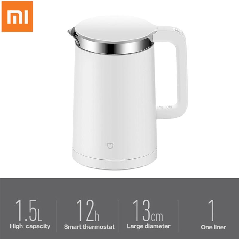Xiao mi 1.5L чайник для воды mi jia постоянный контроль температуры электрический чайник 12 часов теплоизоляция mi Home APP control