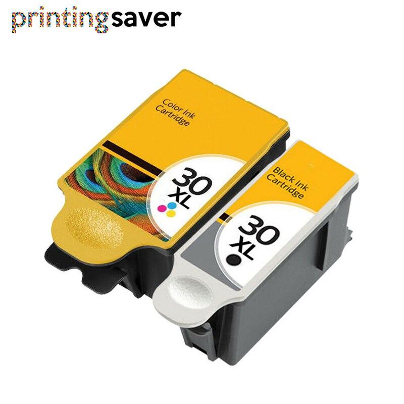 2PK compatible Pour Kodak 30 Cartouche D'encre 30 XL pour 30XL Imprimantes ESP C315 C310 C110 C115 Héros