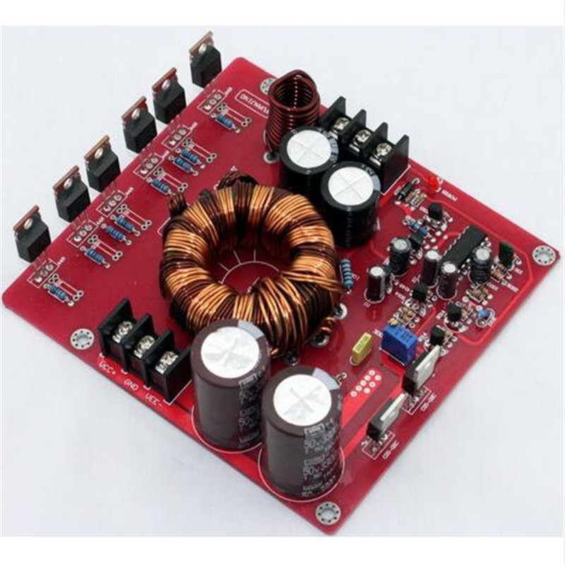 12VDC boost to +/-20-32VDC 350w power supply for car amplifier LM3886 TDA7294 TDA7293 +/-20-32VDC output Voltage adjusted 30%