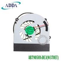 Вентилятор охлаждения для Clevo W150 W150er W350 W350ETQ W370 W370ETQ W370SKQ K590S K660E cpu охлаждающий вентилятор AB7905HX-DE3 радиатор