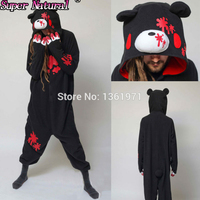Christmas Halloween Party Good Quality Women Men Adult Winter Black Pink Gloomy Bear Kigurums Pajamas Onesie