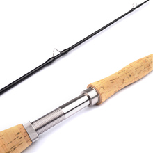 2.7M 4 Section Carbon Fly Fishing Rod Soft Cork Handle Fish Tackle Fly Rod Carbon Fiber Waders Fly Fishing Rods