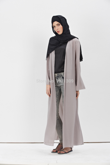 Turkish Abaya New Muslim Dress Cardigan
