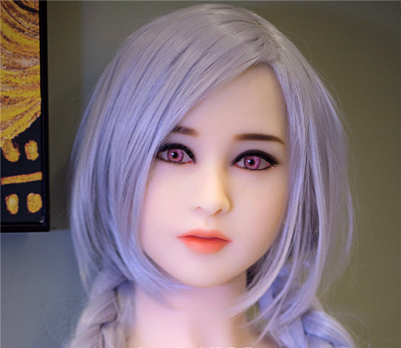 High Quality <font><b>Silicone</b></font> Realistic <font><b>Doll</b></font> <font><b>Sex</b></font> Head For Japanese Love <font><b>Doll</b></font> Sexy <font><b>Dolls</b></font> Oral Adult <font><b>Sex</b></font> Toys Fit Body Height <font><b>135</b></font> to 172cm image