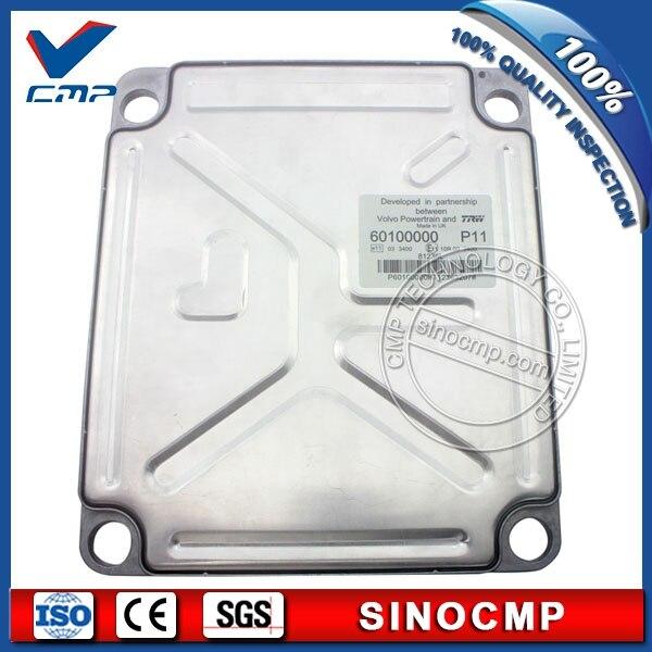 EC210 ショベル ECU VOE 60100000 P10 オリジナルプログラムボルボコントローラ、 1 年保証